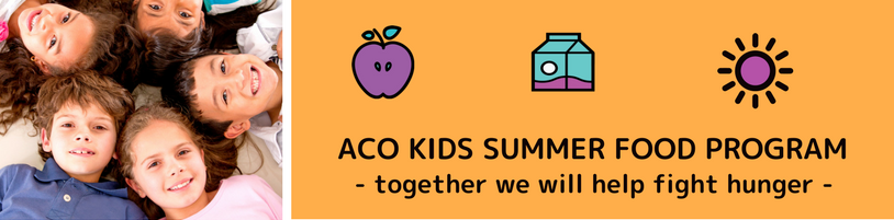 ACO Kids Summer Food Program