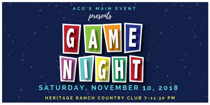 ACO Main Event 2018