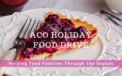 ACO Holiday Food Drive